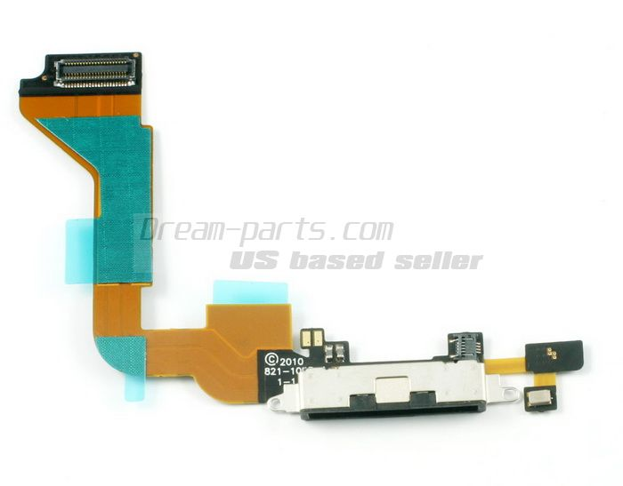 Charger Charging Dock Port Connector Flex Cable for iphone4 wholesale