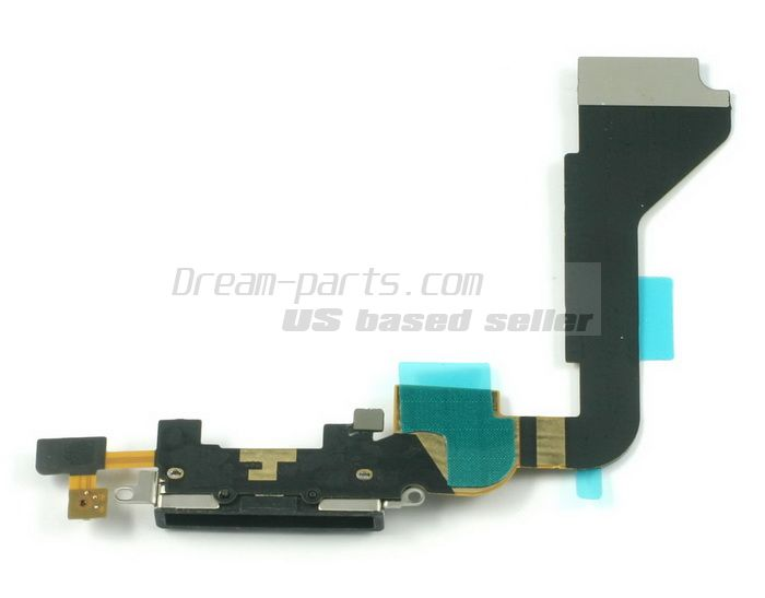 Charger Charging Dock Port Connector Flex Cable for iphone4 wholesale-