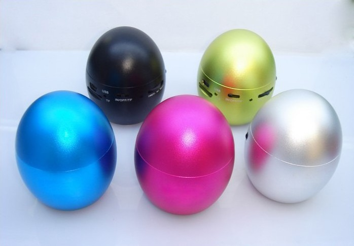 Gold Egg Style Mini Vibration Speaker