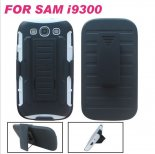 Samsung i9300 Combo Mobile phone shell protective sleeve clip bracket sets