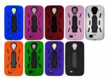 Samsung S4 i9500 phone shell protective sleeve robot three in one PC + silicone protective shell