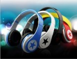 Stereo headset wireless stars earphone support FM
