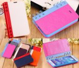 The new Samsung phone leather notebook Notepad Mobile Shell