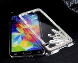 S5 Samsung mobile phone protective sleeve shell phone accessories wholesale diamond sets