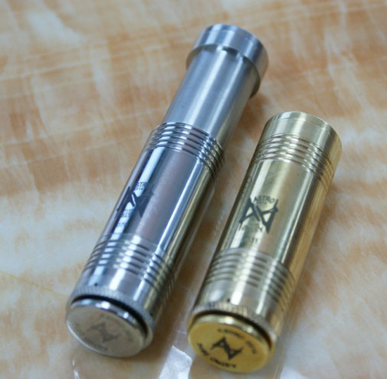 The New Astro mechanical electronic cigarette host electronic cigarette main body stainless steel