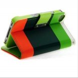 Apple hit color leather iphone 5/5 s three color bright beautiful following Apple mobile phone coat c