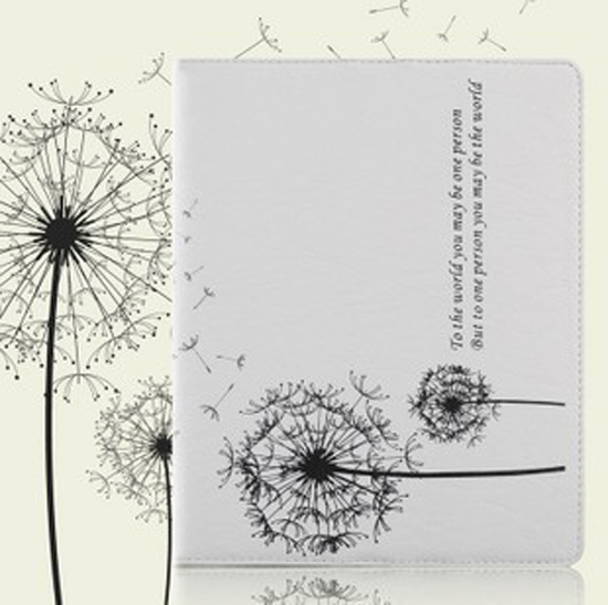 Apple ipad protective sleeve Dandelion ipad Universal leather holster ipad protective shell