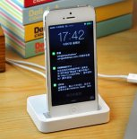 iPhone5/5S 5c charging cradle charger bracket DOCK Charger Dock Accessories