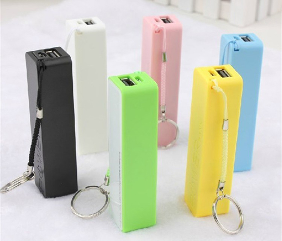 Candy-colored lipstick 2600 mA mobile power charging treasure