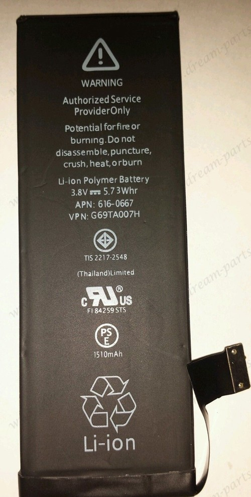 iPhone 5c battery fits new iPhone battery with warrantry
