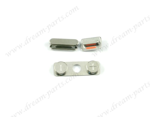 High Quality Key Set Lock Button Power Key Switch On/ Off + Mute Switch Button + Volume key For iPhone 4s
