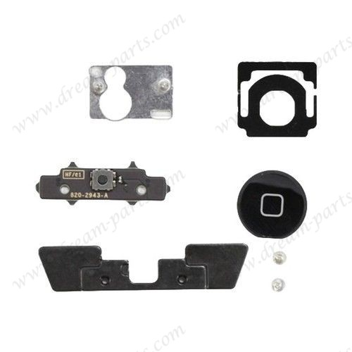 Original iPad Black Home Button Click Inner Replacement Part Kit