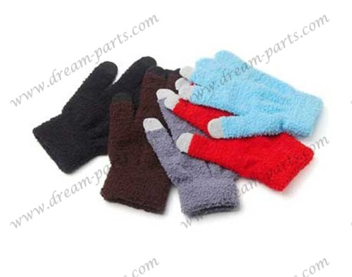 Fashion lovers can touch gloves